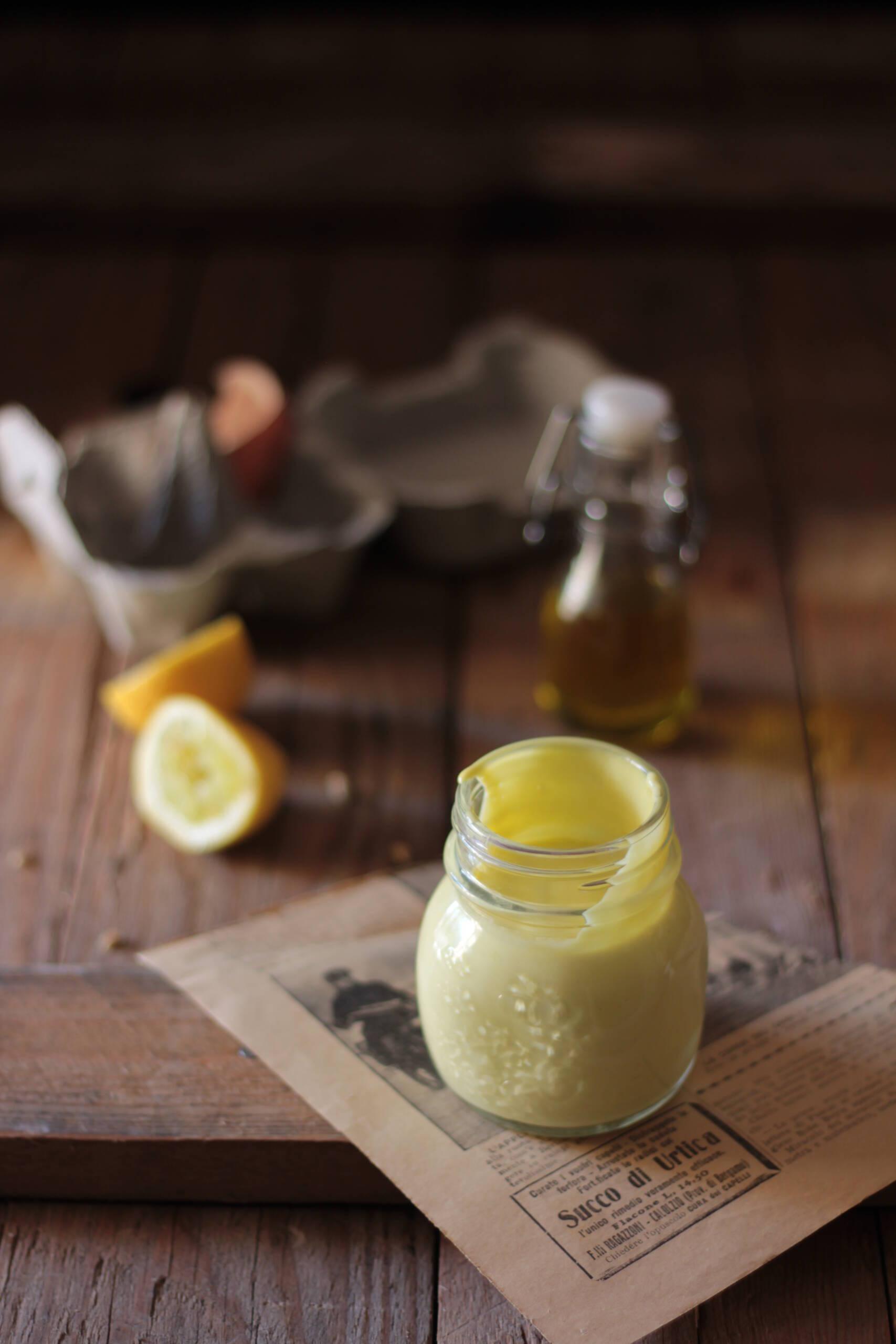 Maionese con olio extra vergine di oliva