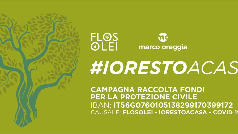 Flos Olei e i produttori di extravergine di oliva di qualità: distanti ma uniti per aiutare tutte le persone che sono in prima linea.