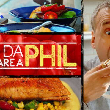 """L'olio Titone conquista anche Phil della serie televisiva """"Date da mangiare a Phil"""""""