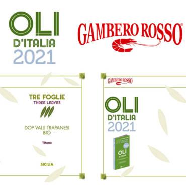 Guida Oli d'Italia 2021: Titone é il migliore olio DOP della guida Gambero Rosso